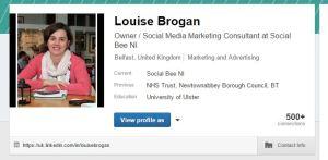 LinkedIn personal details